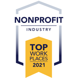 2021 Top Workplace - Non-Profit Industry
